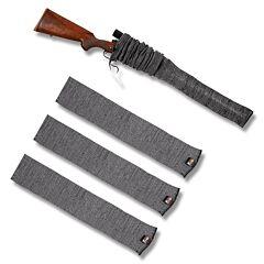 Allen 3 Pack 52 Inch Gun Socks Heather Grey