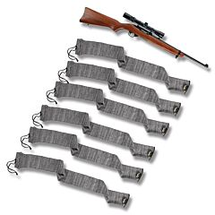 Allen 6 Pack 52 Inch Gun Socks Heather Gray