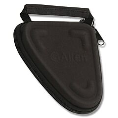 """Allen Molded Compact Pistol Case - Solid Black - 25ACP, 380/5"""" Overall"""