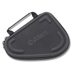 "Allen Molded Compact Pistol Case - Solid Black - 3"" Semi-Automatic/8-1/2"" Overall"