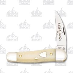 Tidioute 1901020SWB Little Rattler Smooth White Bone