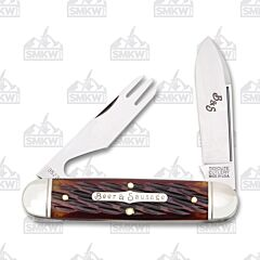 Tidioute Beer and Sausage Bar Tool Knife Autumn Jigged Bone