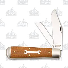 Great Eastern Tidioute 86 Oil Field Jack Natural Canvas Micarta