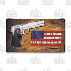 TekMat Gun Cleaning Mat Second Amendment