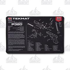 TekMat Ultra 20 Gun Cleaning Mat Sig Sauer P320