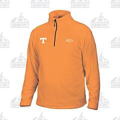 Drake Tennessee Camp Fleece 1/4 Zip Pullover Orange