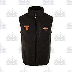 Drake Tennessee Camp Fleece Vest Black