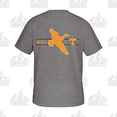 Drake Tennessee Drake and School Logo Short Sleeve Shirt