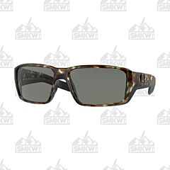 Costa Fantail Pro Matte Wetlands Green Sunglasses Gray Plastic