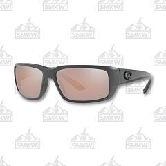 Costa Fantail Matte Gray Plastic Sunglasses