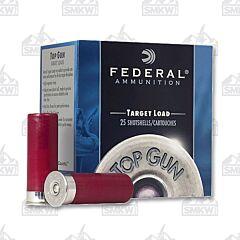 """Federal Top Gun Ammunition 12 Gauge 2-3/4"""" #7-1/2 Shot 25 Rounds"""
