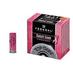 "Federal TopGun Target Load ""Special Addition"" 12 Gauge 2.75"" 1-1/8 oz #8 Shot 25 Rounds"