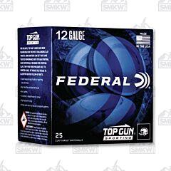 "Federal Top Gun 12 Gauge 2-3/4"" #8 Shot 25 Rounds"