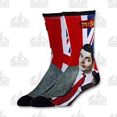 Oooh Yeah! Real Mr. Bean Men's Crew Socks