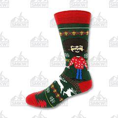 Oooh Yeah! Tis the Season Men's Crew Socks