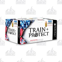 Federal Train + Protect 9mm Luger 115 Grain Jacketed Hollow Point 50 Rounds