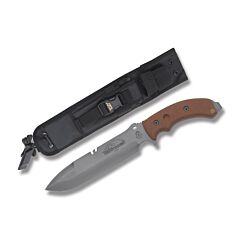 TOPS Tahoma Field Knife Tan Canvas Micarta