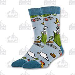Oooh Yeah! Trash Panda Men's Crew Socks