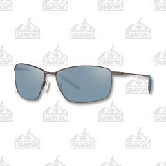 Costa Turret Matte Dark Gunmetal Sunglasses