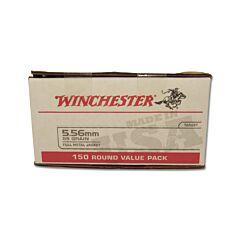 Winchester USA 5.56 Nato 55 Grain Full Metal Jacket 150 Rounds