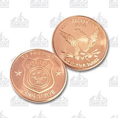 Police One Ounce Copper Round