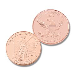 2nd Amendment One Ounce Copper Round