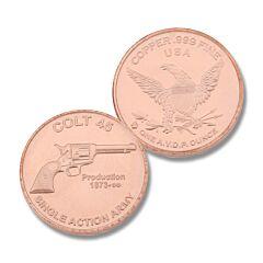 Colt 45 Copper Round Model 129