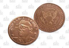 Donald J. Trump One Ounce Copper Round