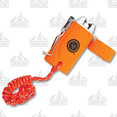 UST Brands TekFire Charge Fuel-Free Lighter Orange