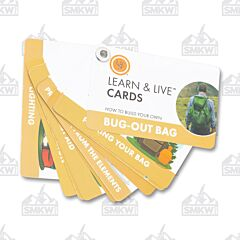 UST Brands Bug Out Bag Learn & Live Cards
