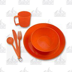 UST PackWare Orange Dish Set Model 20-02780