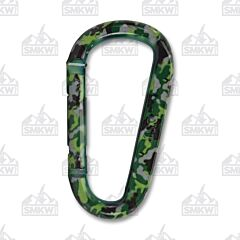 UST Green Camo Snappy Carabiner Model 12082