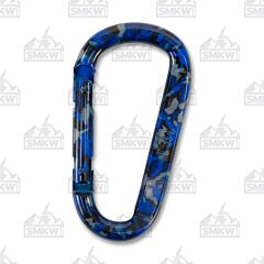 UST Blue Camo Snappy Carabiner Model 12086