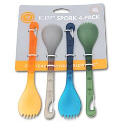 UST KLIPP Spork 4 Pack Multi-Color