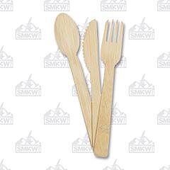UST Brands Bamboo Utensil 12 Piece Set
