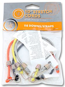 """UST 10"""" Stretch Cords 4 Pack"""