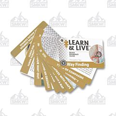UST Way Finding Cards Learn & Live Cards