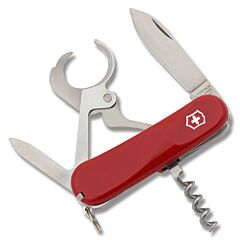 """Victorinox Cigar 36 3.375"""" with Red Composition Handle and Stainless Steel Blades and Tools Model 2.5703.EUS2"""