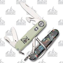 Victorinox Smokey Bear 75th Birthday Tinker Stainless Steel Tools Polyamide Handles