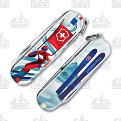 Victorinox Classic SD Ski Race Limited Edition 2020 Clam Pack
