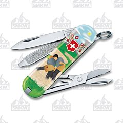 Victorinox Classic SD Swiss Wrestling Limited Edition 2020 Clam Pack