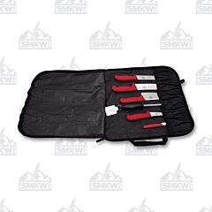 Victorinox Cutlery Master Competition BBQ Set Red