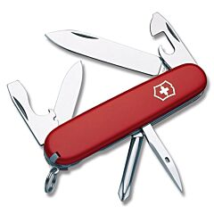 Victorinox Swiss Army Tinker with Red Composition Handles