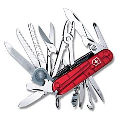 Victorinox Swiss Champ Translucent Ruby