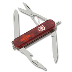 Victorinox Swiss Army Midnight Manager Translucent Ruby