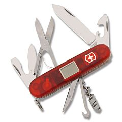 Victorinox Swiss Army Traveller Translucent Ruby