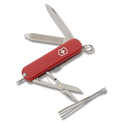 "Victorinox Swiss Army Signature 2.313"" with Red Composition Handle and Stainless Steel Blade and Tools Model 54091"