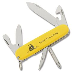Victorinox Swiss Army Don't Tread On Me Yellow Tinker