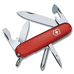 Victorinox Swiss Army Tinker/Sharpener Combo Set with Red Composition Handles
