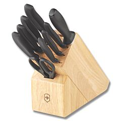 Victorinox Cutlery 10 Piece Kitchen Block Set